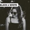 black whitre cover